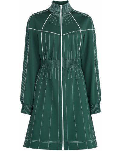 Платье с поясом спортивное со вставками Valentino