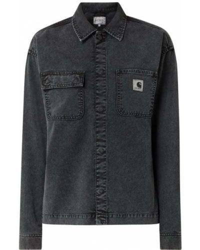 Kurtka jeansowa - czarna Carhartt Work In Progress