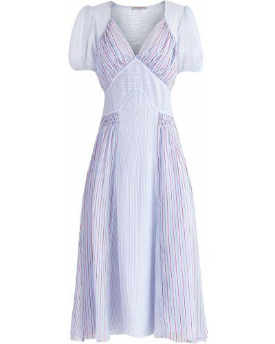 Платье миди платье-комбинация с декольте Ermanno Scervino