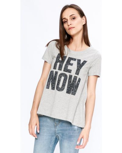 Серая футболка Silvian Heach