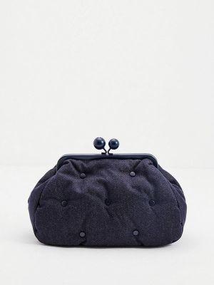 Синяя зимняя сумка Weekend Max Mara