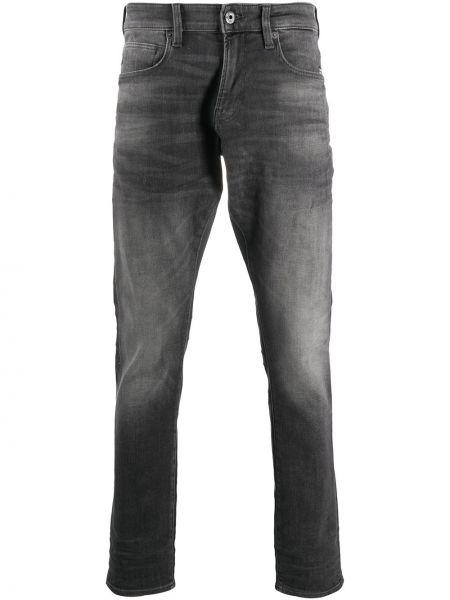 Черные джинсы-скинни с карманами с вышивкой G-star Raw