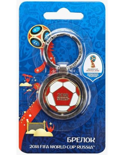 Брелок серебряного цвета 2018 Fifa World Cup Russia™