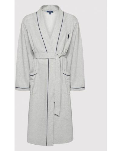 Szlafrok - szary Polo Ralph Lauren