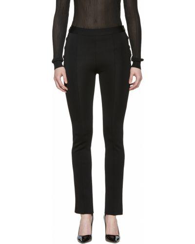 Черные леггинсы с карманами Givenchy