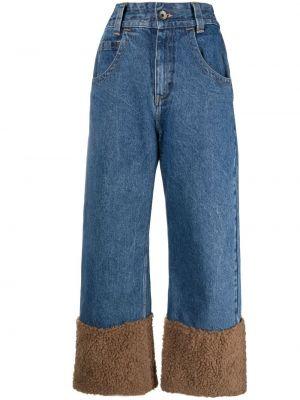 Прямые джинсы классические - синие Opening Ceremony