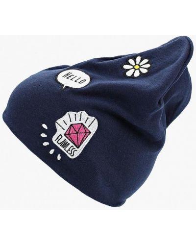 Синяя шапка Modis