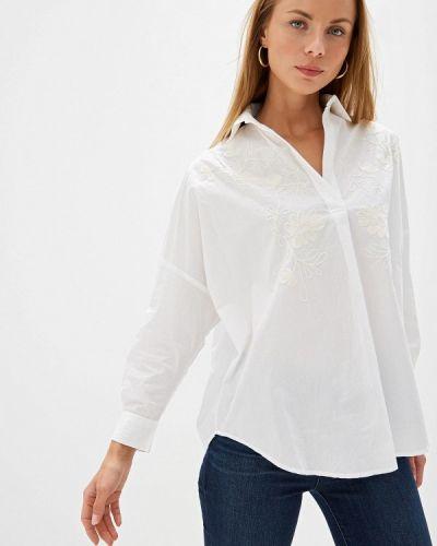 Блузка с длинным рукавом индийский белая French Connection