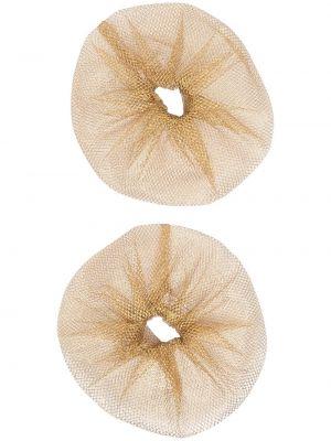 Золотистая желтая резинка для волос на резинке Atu Body Couture