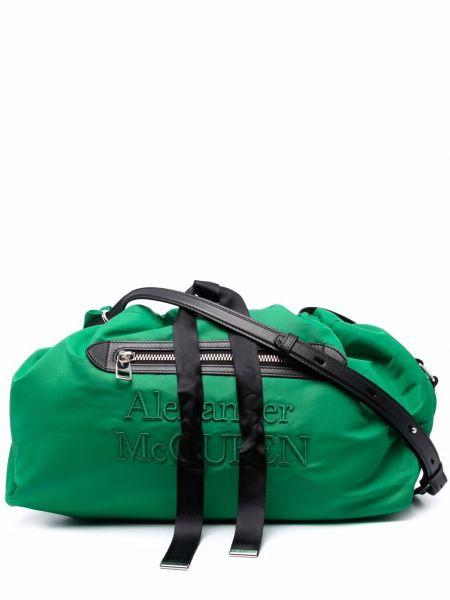 Зеленая сумка на плечо Alexander Mcqueen