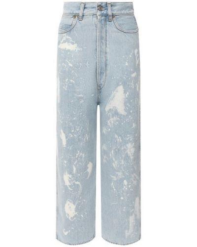 Хлопковые джинсы - синие Golden Goose Deluxe Brand