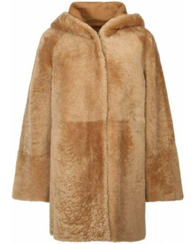 Brązowy płaszcz Drome