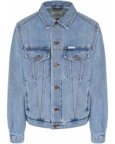 Джинсовая куртка свободная хлопковая Forte Couture
