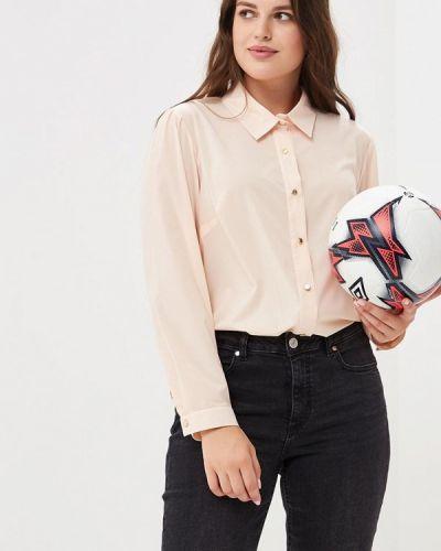 Бежевая блузка с длинным рукавом Sartori Dodici