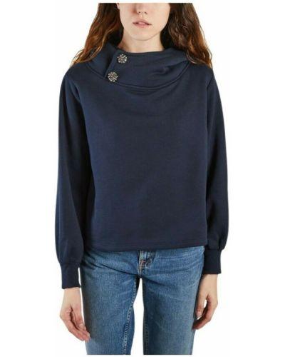 Niebieska bluza dresowa Ba&sh