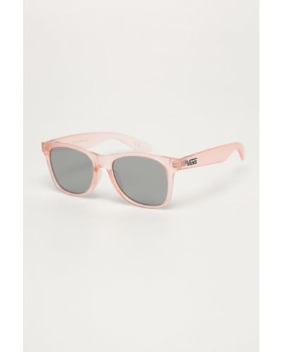 Różowe okulary Vans