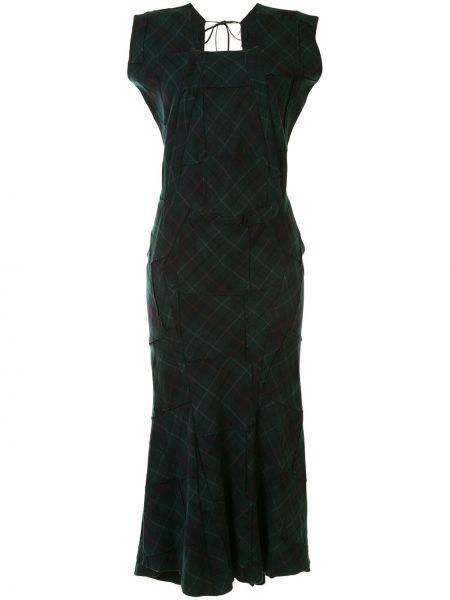 Открытое платье с открытой спиной без рукавов квадратное Junya Watanabe Comme Des Garçons Pre-owned