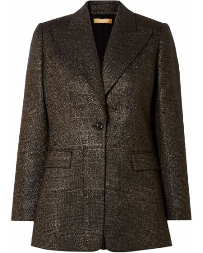 Шерстяной пиджак с карманами на пуговицах Michael Kors Collection