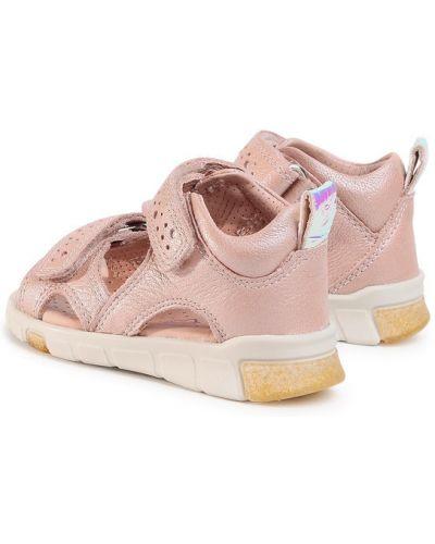 Różowe sandały Ecco