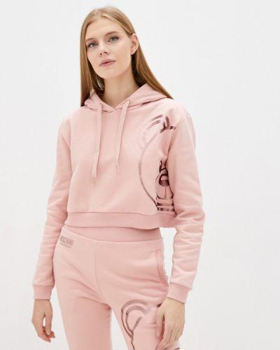 Худи - розовое Moschino Underwear