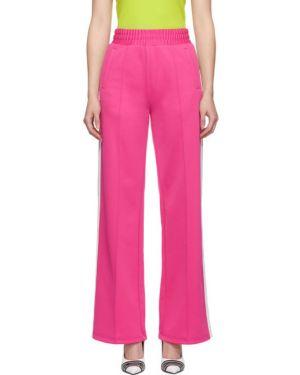 Спортивные брюки розовый с карманами Off-white