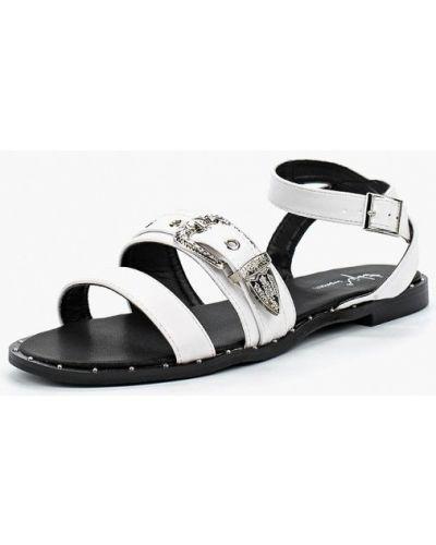 Белые сандалии Sergio Todzi