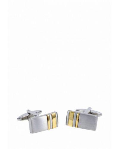 Серебряные запонки Lindenmann