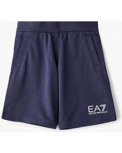Шорты синий Ea7