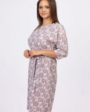 Платье с поясом платье-сарафан с рукавами ангелика