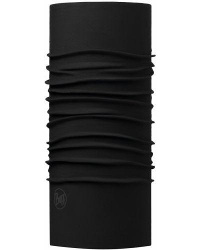 Czarny szalik materiałowy Buff