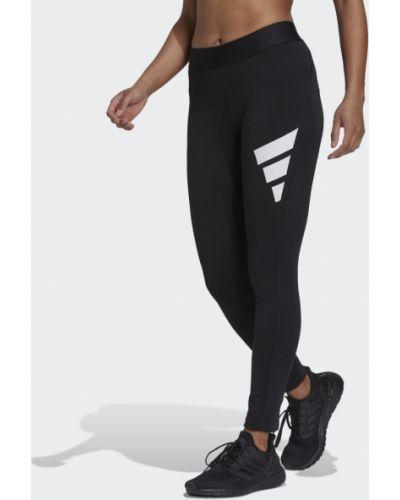 Черные повседневные леггинсы Adidas