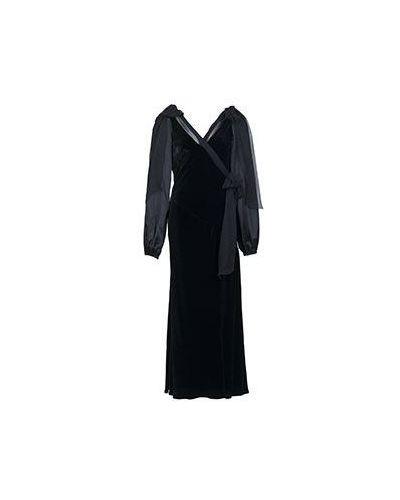 Вечернее платье черное Alberta Ferretti