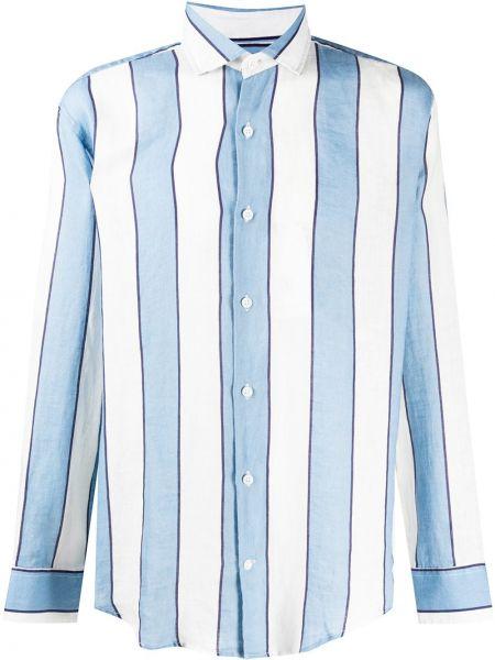 Koszula z długim rękawem w paski z paskami Frescobol Carioca