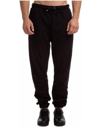 Czarne spodnie sportowe Throwback