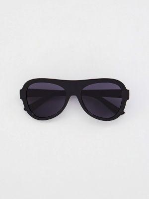 Черные солнцезащитные очки круглые Mango