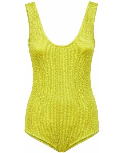 Żółty stroj kąpielowy jednoczęściowy Bottega Veneta