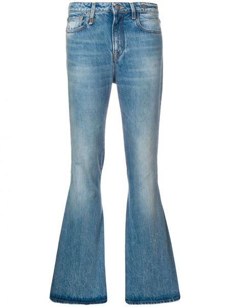 Прямые джинсы синие с карманами R13