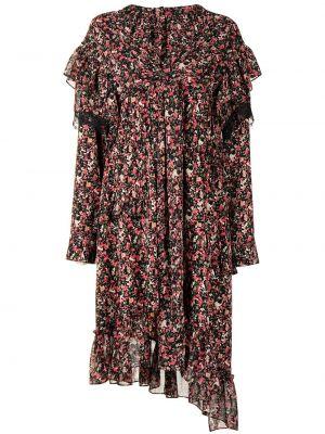 Платье миди в цветочный принт Goen.j