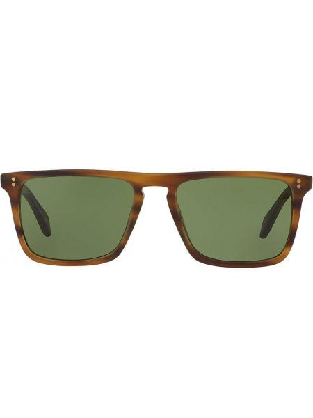 Солнцезащитные очки зеленый хаки Oliver Peoples