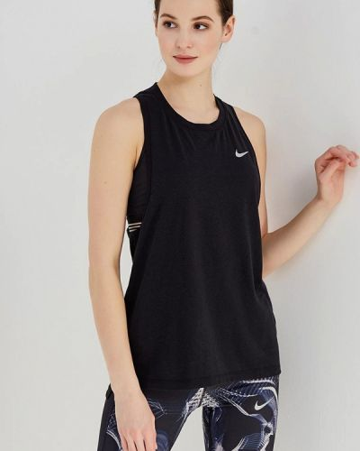 Черная спортивная майка Nike