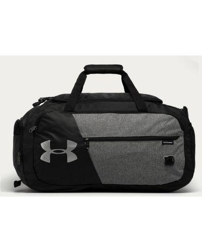 Szara torba podróżna z printem Under Armour