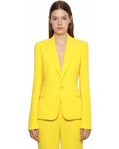 Приталенная куртка - желтая Ralph Lauren Collection