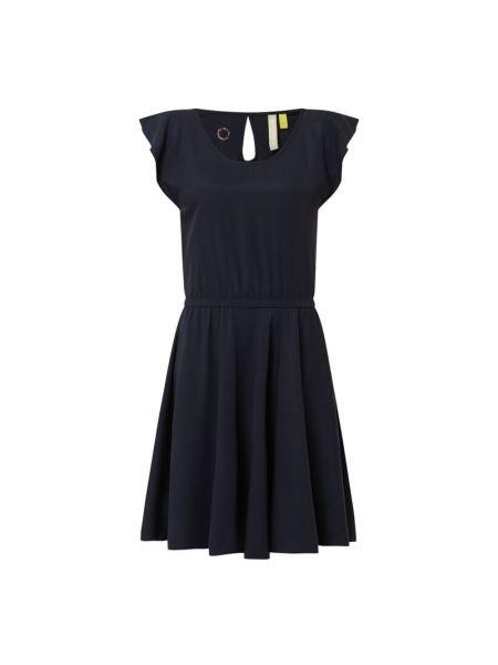 Sukienka rozkloszowana - niebieska Alife And Kickin