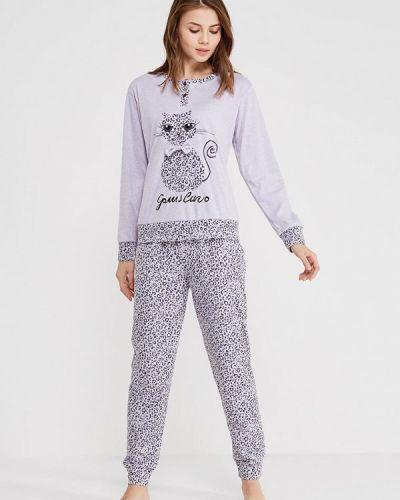Пижама серая пижамный Cootaiya