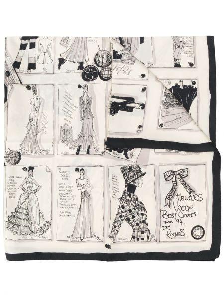 Черный шарф Rewind Vintage Affairs