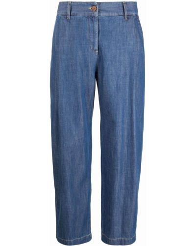 Укороченные прямые джинсы - синие See By Chloé