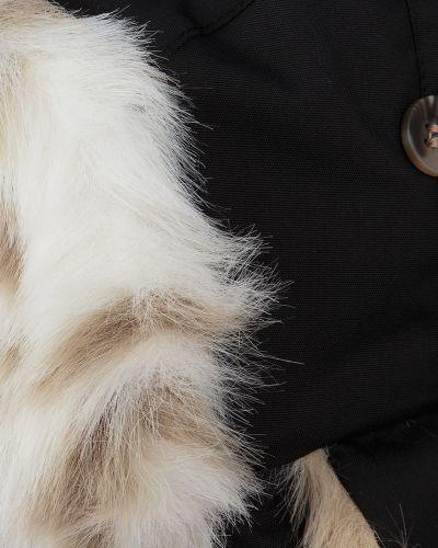 Шапка-ушанка зимняя с мехом Huppa