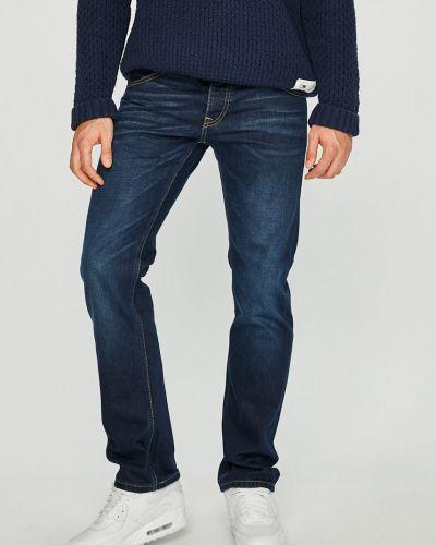 Прямые джинсы с карманами синий Mustang