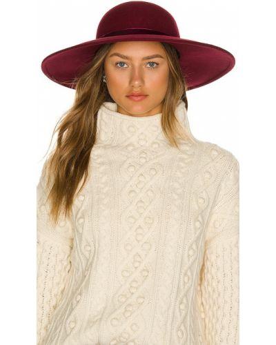 Шерстяная шапка - розовая Eugenia Kim