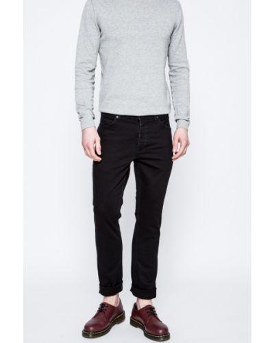 Черные прямые джинсы Wrangler